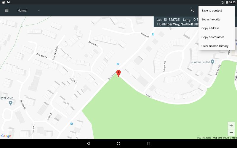 Map Coordinates Screenshot 13