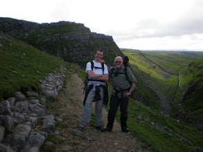 Photo: PW - Roger and Thomas over Ing Scar