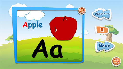Alphabet puzzles & flash cards 1.1 screenshots 2