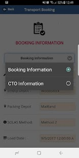 GoReefers Transport App - náhled
