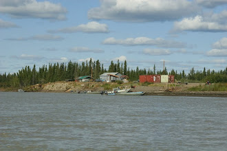 Photo: Yukon River.. Fort Yukon