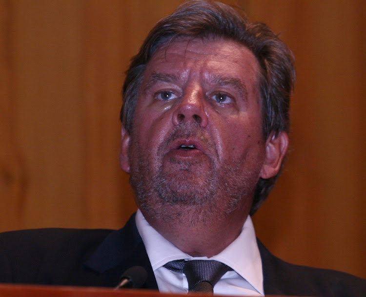Johann Rupert.   Picture: FINANCIAL MAIL