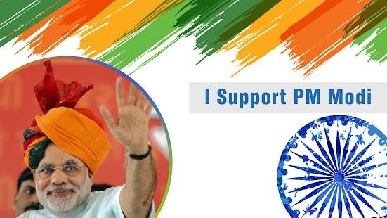 I Support PM Modi - náhled