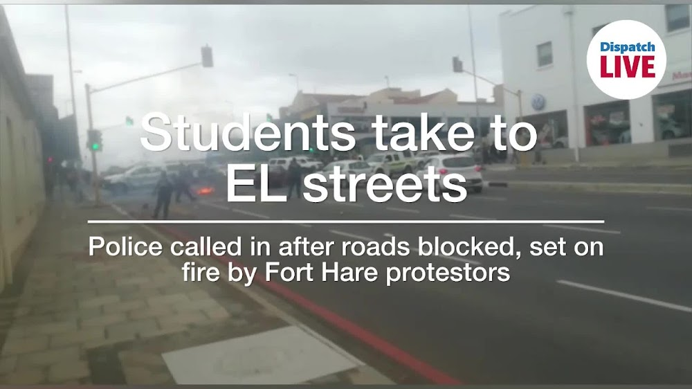 WATCH   Protesting students take to East London streets - DispatchLIVE