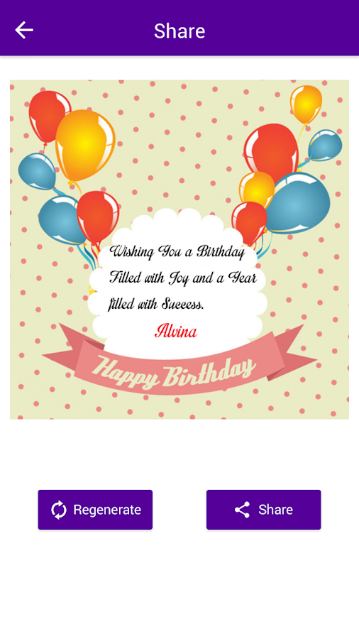 Name on Birthday Card Android Apps on Google Play – Text for Birthday Card