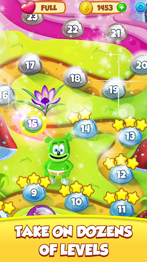 Gummy Bear Bubble Pop - Kids Game apktram screenshots 3