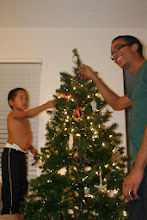 Photo: My husband helped put the star on