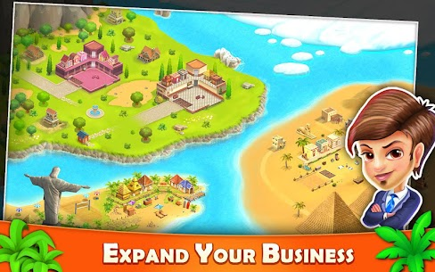 Resort Tycoon – Hotel Simulation MOD APK 9.3 [Unlimited Gems] 3