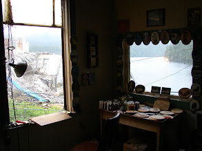 Photo: View from the bunkhouse.