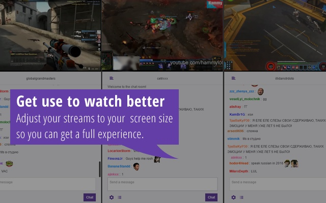 MultiTwitch - Multi Twitch streams at once