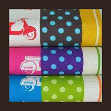 Photo: *Scooters*Special Note *each of these fabrics are available separately but shown together to inspire creative thinking!*would coordinate with espresso, black, khaki, or purple straps*VERY hard to find fabric*