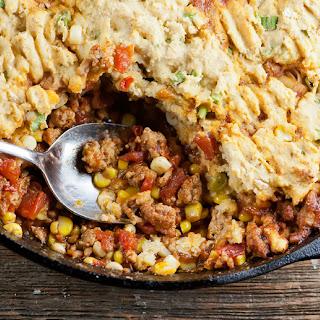 Skillet Tamale Pie Recipe