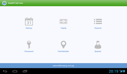 RaitAPP SelfCare screenshot 1