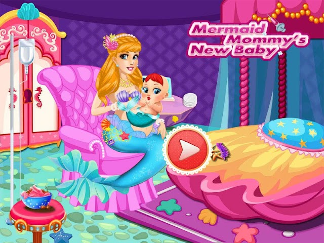 android Mermaid Mommy's New Baby-Care Screenshot 3
