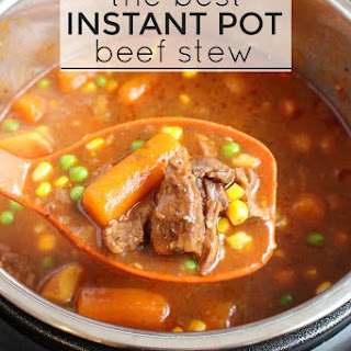 The Best Instant Pot Beef Stew Recipe