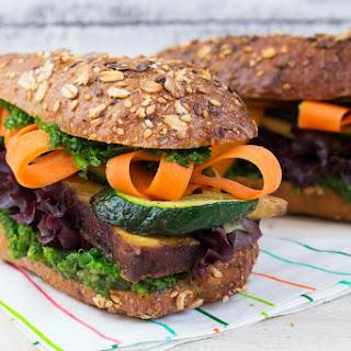 Vegetarian Pesto Sandwich Recipes.