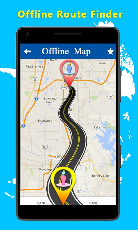 Best Offline World Map App. Offline World Map Atlas  Navigation Route Finder screenshot Android Apps