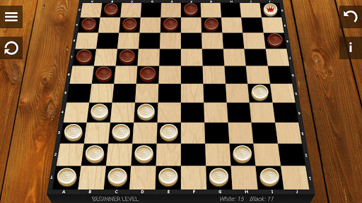Checkers game (apk) free download for Android/PC/Windows screenshot