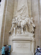 Photo: Among those buried in the necropolis are Voltaire, Rousseau,Victor Hugo, Émile Zola, Jean Moulin, Marie Curie, Louis Braille, Jean Jaurès, and Soufflot, the architect of the Pantheon (commissioned in 1755, with work beginning two years later, but not completed until 1790)..