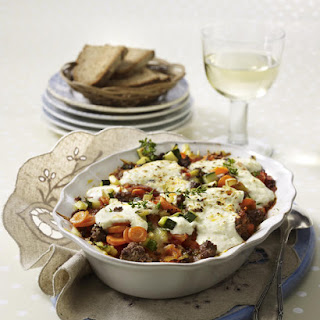 Beef and Vegetable Bolognese Casserole