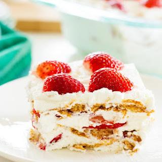 Strawberry Shortcake Icebox Cake Recipe
