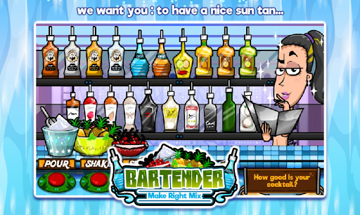 Bartender Perfect Mix  gameplay | by HackJr.Pw 1