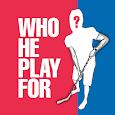 WhoHePlayFor (Hockey)