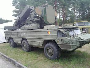 Photo: east german army sam vehicle