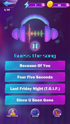 Music Quiz - Guess Popular Songs & Music 1.00.11 screenshots 1