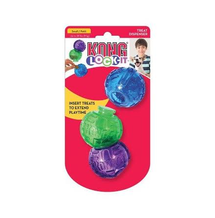 Kong Lock-it S 3-pack