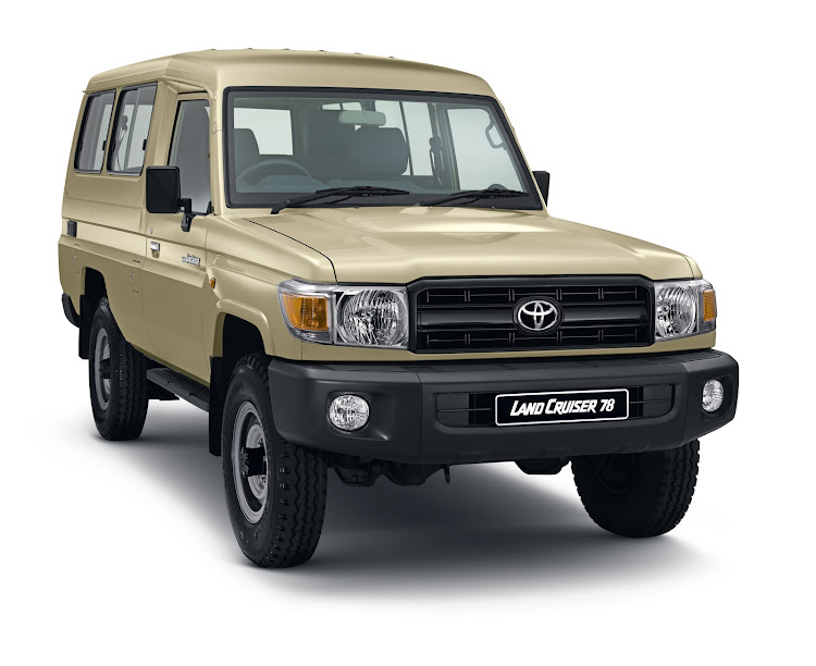 The Land Cruiser 78 has returned to the SA market.