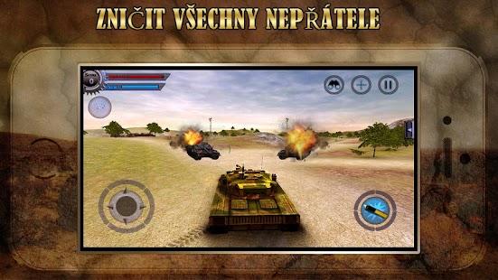 3D Tank útok válka - náhled