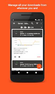 Aria2App - náhled