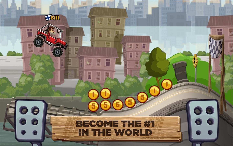 Hill Climb Racing 2 - στιγμιότυπο οθόνης