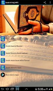 Surah Al Hajj MP3 سورة الحج - náhled