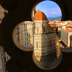 Duomo at Florence by Aaron Bushkowsky - Buildings & Architecture Places of Worship