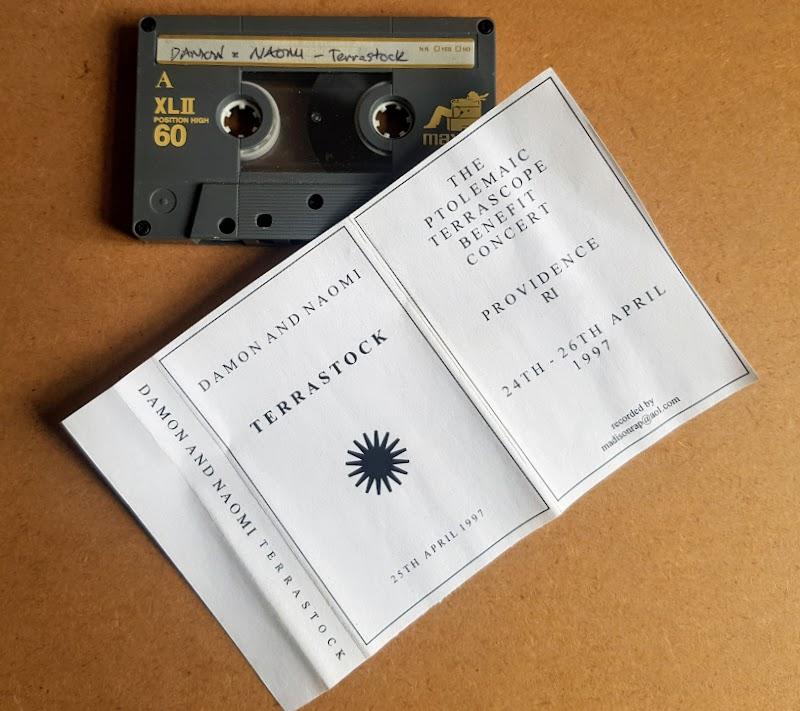 Damon & Naomi at Terrastock cassette (1997)