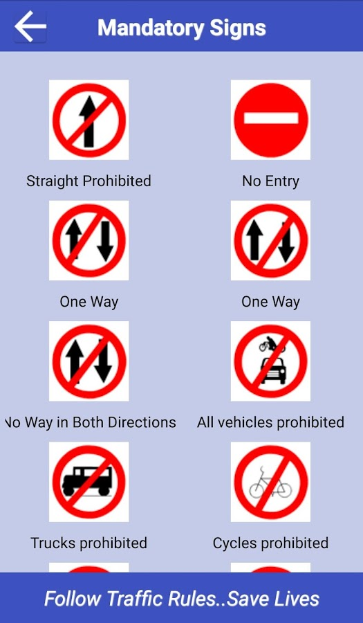 traffic signs amp rules android apps on google play