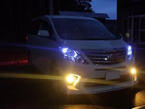アルファード ANH25W 親車 240S タイプゴールド 4WDのカスタム事例画像 青森県のタイプゴールドさんの2018年10月28日17:15の投稿