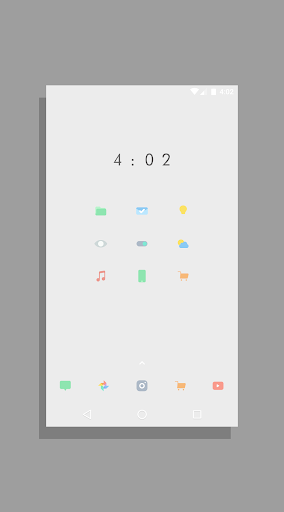Kecil - Icon Pack for Android app for Android screenshot