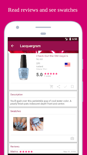 Lacquergram: for Nail Polish Lovers 1.40.1 screenshots 2