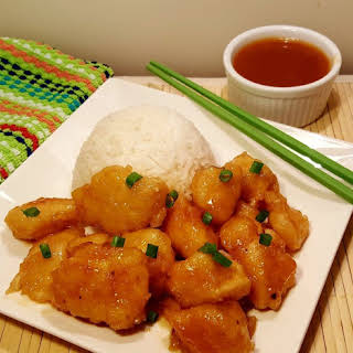 Pressure Cooker Chinese Take-Out Sweet 'N Sour Chicken.