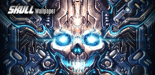 Skull wallpaper apps on google play voltagebd Image collections