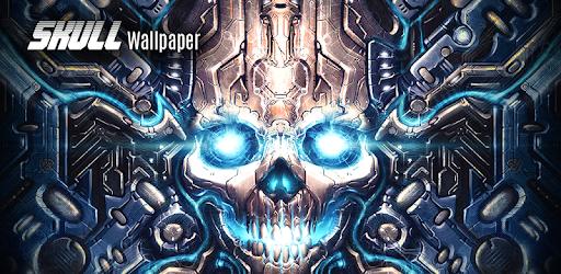 Skull wallpaper apps on google play voltagebd Choice Image