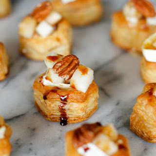 Baked Brie, Pear & Pecan Bites Recipe