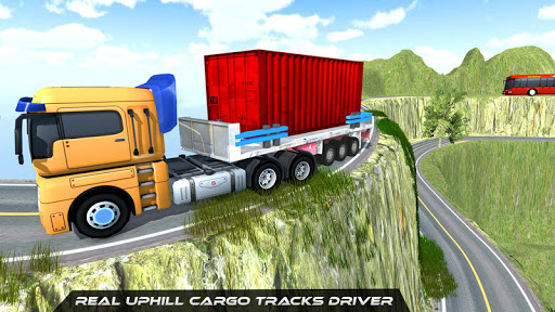 Télécharger Gratuit Cargo Truck Simulator Conduite en montée mod apk screenshots 4