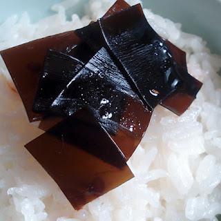 Kombu No Tsukudani Or Shiokombu.