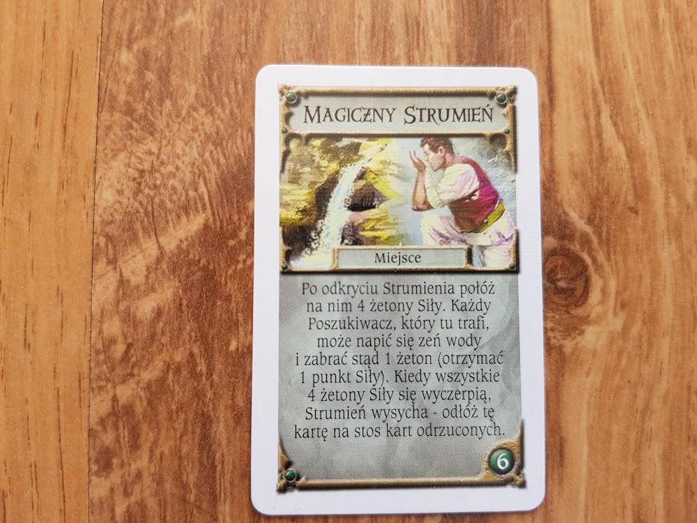 Talisman - magiczny strumień miejsce