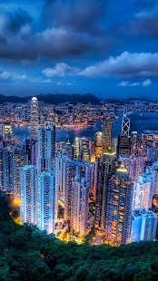 Hongkong Živé Tapety - náhled