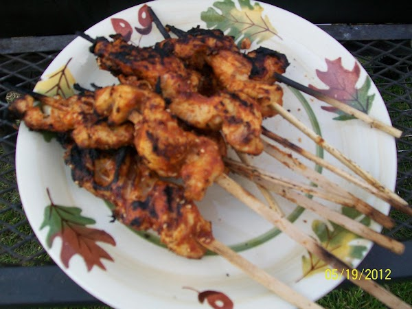 In A Hurry Curry Chicken Satay Recipe